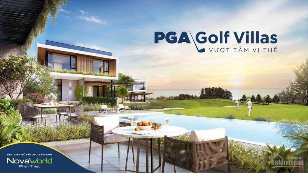 biet thu pga golf villa novaworld phan thiet