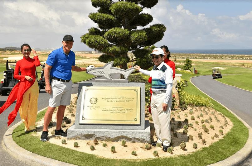 khai truong san golf kn paradise
