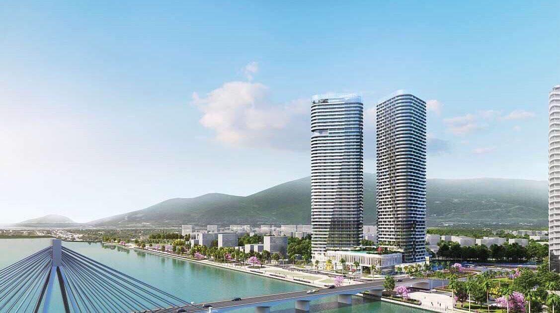 Suntory Bay Da Nang tu cau song han