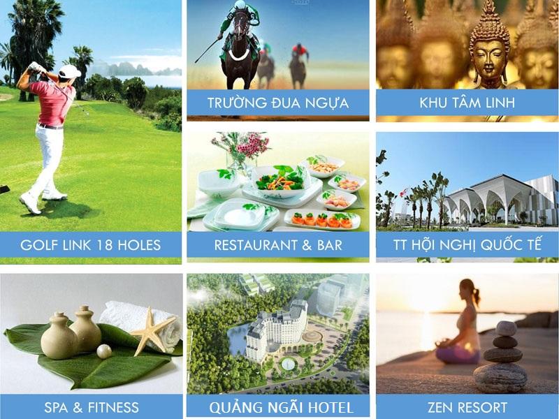 tien ich noi troi tai flc quang ngai Beach & Golf Resort