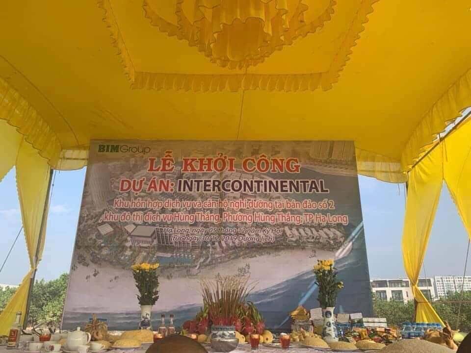 le khoi cong xay dung intercontinental ha long