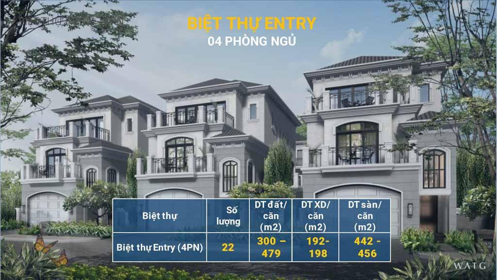 biet thu entry grand bay ha long villas
