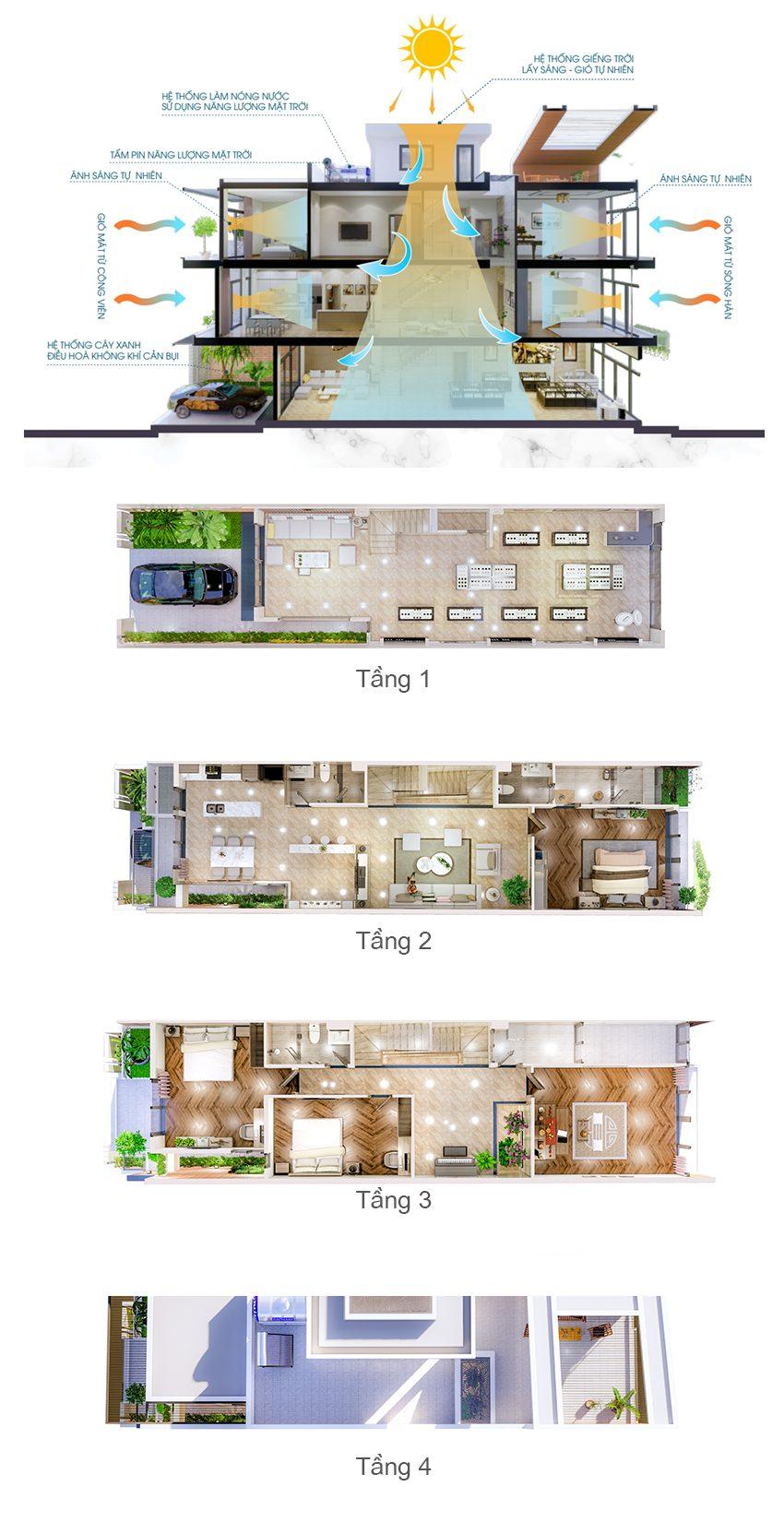 mat bang tang marina complex da nang