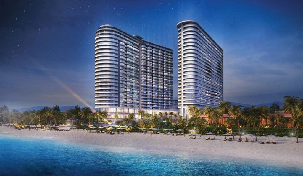 hinh phoi canh du an ariyana beach resort & suites