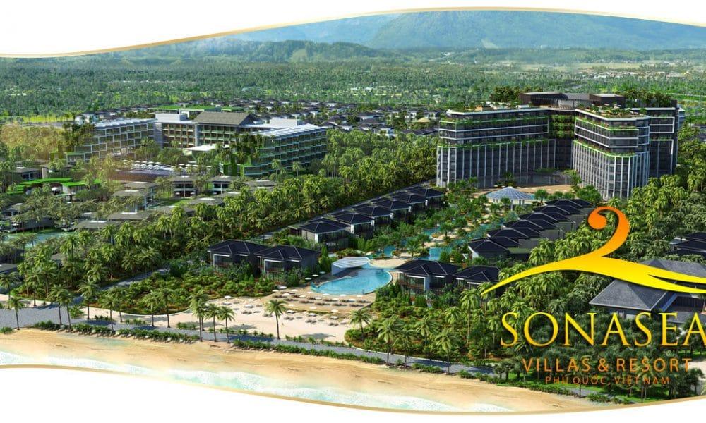 phoi canh tong the du an sonasea villas & resort