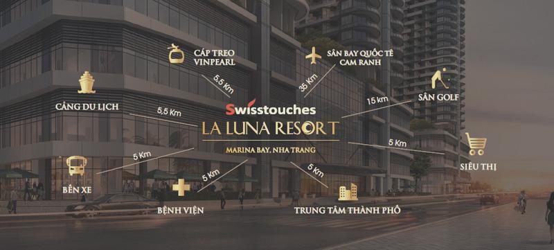 lien ket vung tu Swisstouches La Luna Resort Nha Trang