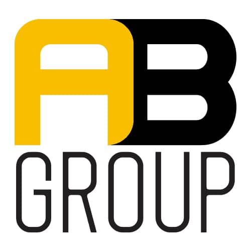 logo chu dau tu a&b group
