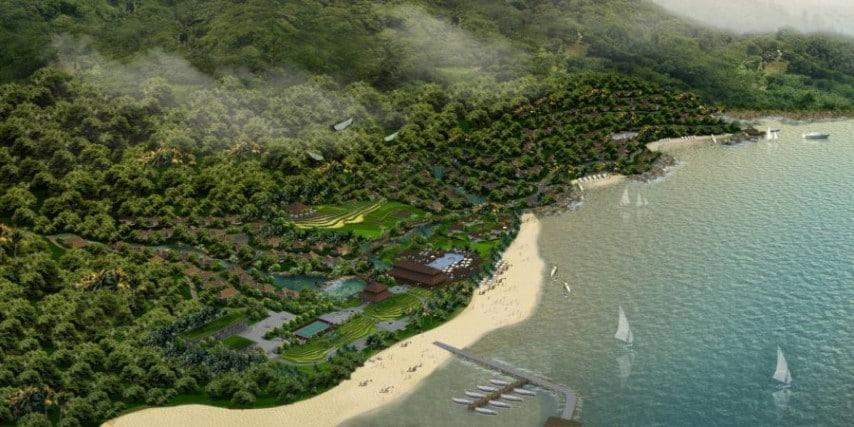 mat bang khu nghi duong gia han ecological resort nha trang