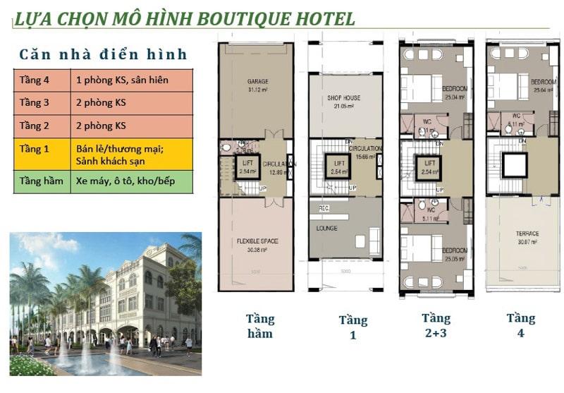 thiet ke mini hotel phu quoc Waterfront