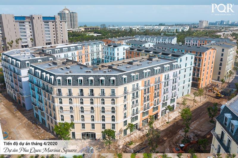 tien do xay dung Phu Quoc Marina Square4 2020