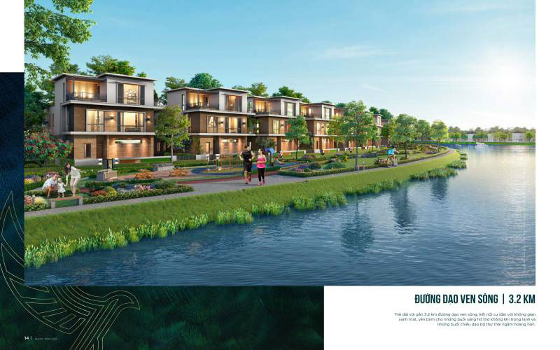 phoi canh biet thu ven song aqua city