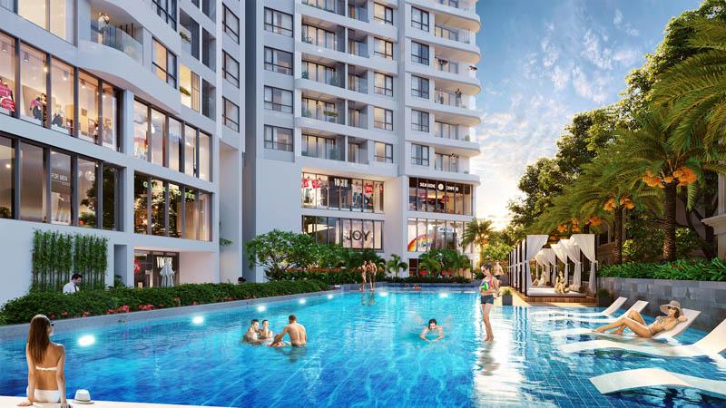 ho boi ngoai troi the sapphire residence ha long