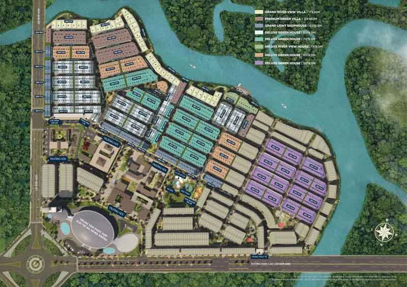 mat bang aqua city the valencia