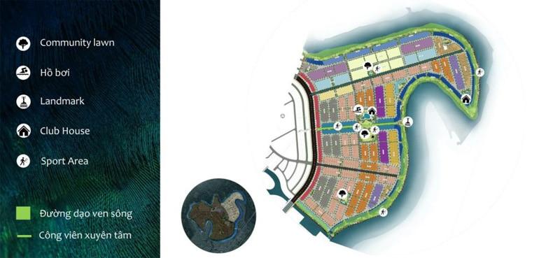 mat bang phoenix south aqua city