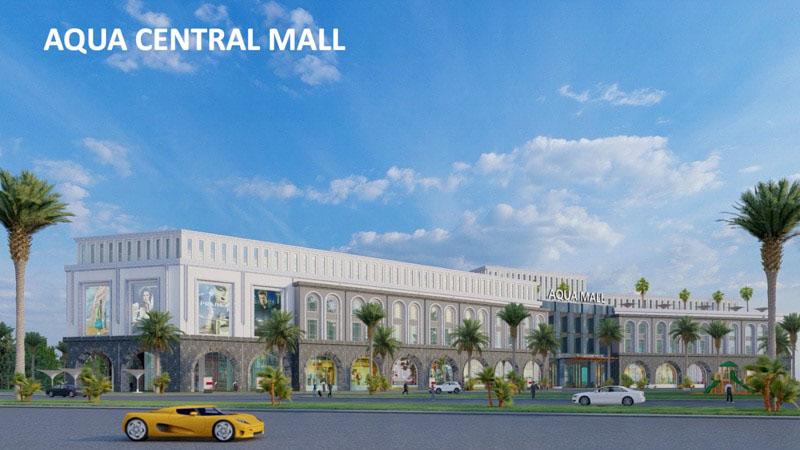 trung tam thuong mai aqua central mall aqua city