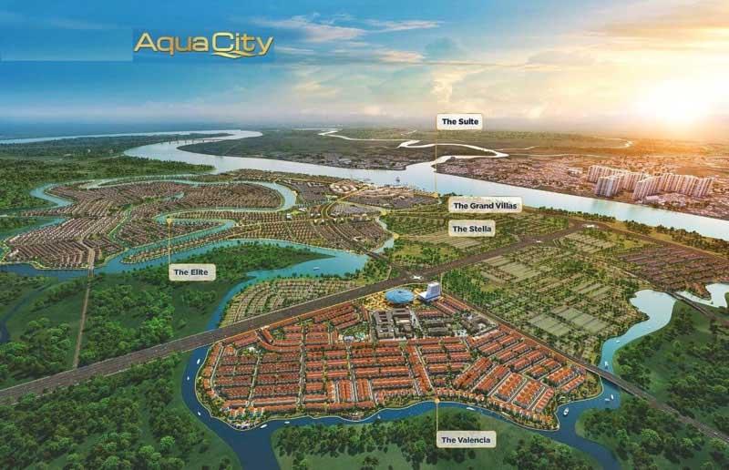 phoi canh aqua city dong nai