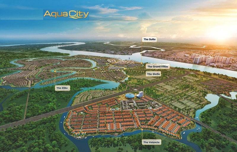 tong the du an aqua city