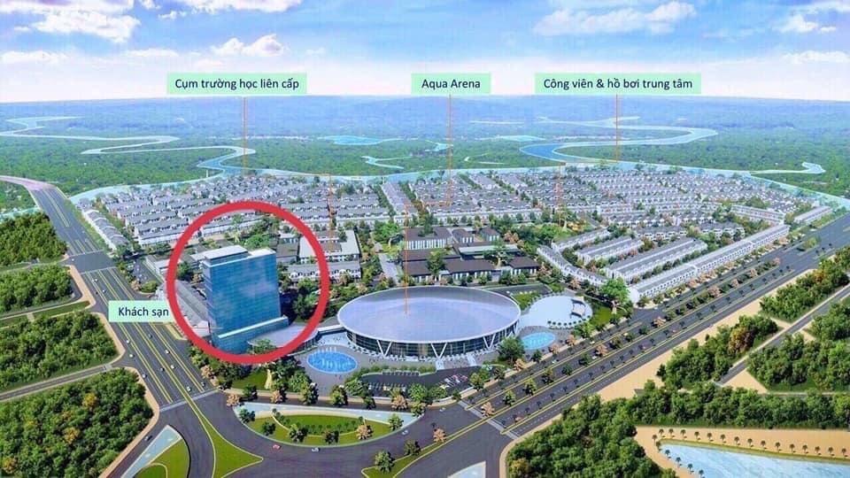 phan khu aqua arena aqua city