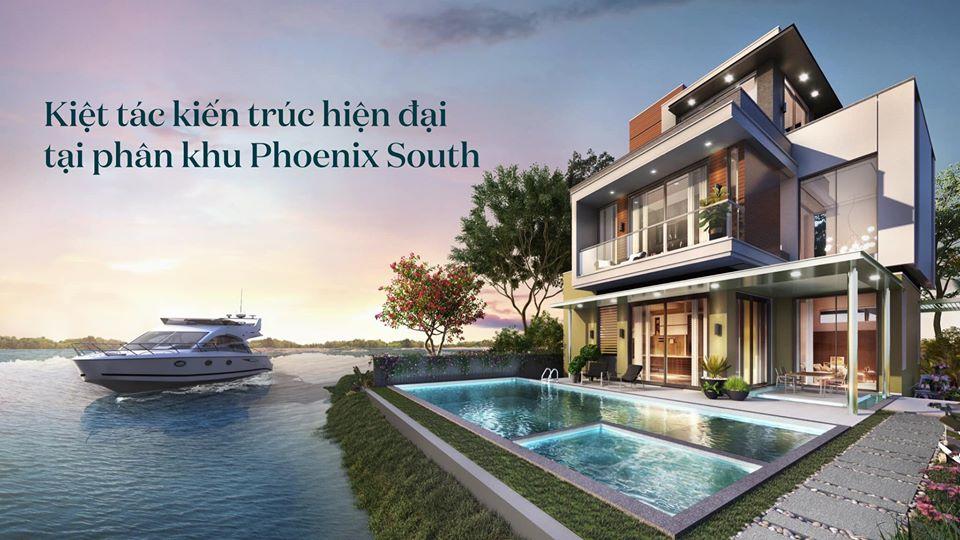 biet thu phoenix south aqua city