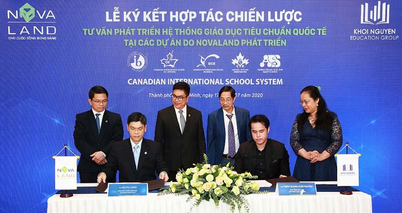 Novaland hợp tác với Khôi Nguyên phát triển hệ thống trường học quốc tế tại Aqua City