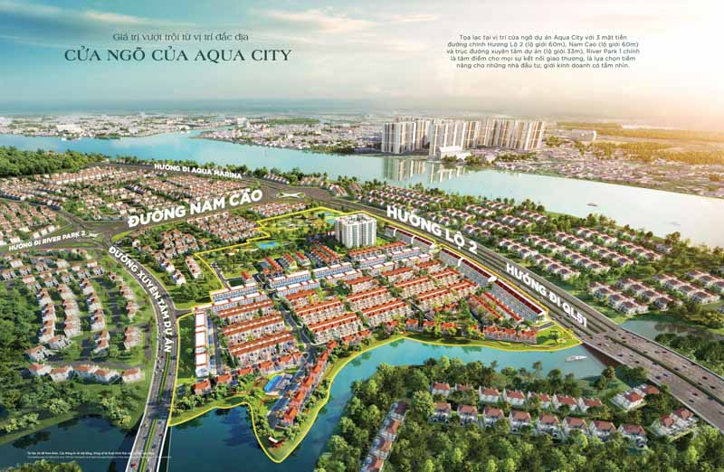 Phân khu River Park 1 Aqua City có gì nổi bật?