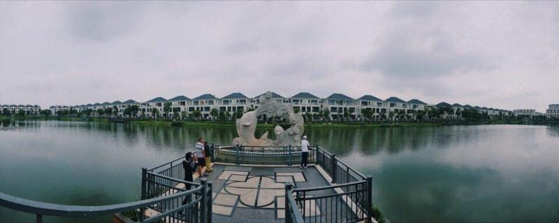 ho sinh thai lakeview city novaland