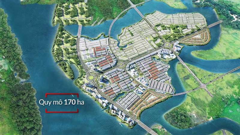 mat bang spring waterfront city