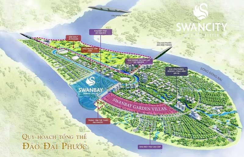 mat bang tong the swan bay dai phuoc