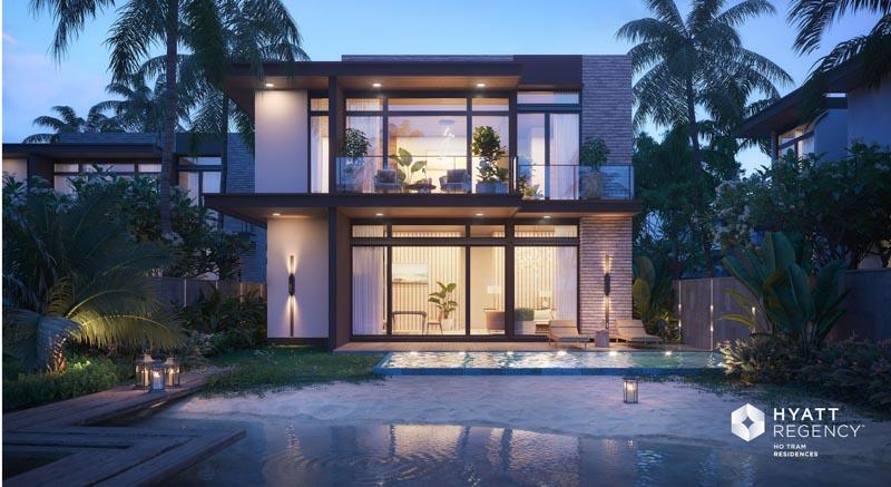 seaview villa hyatt regency ho tram