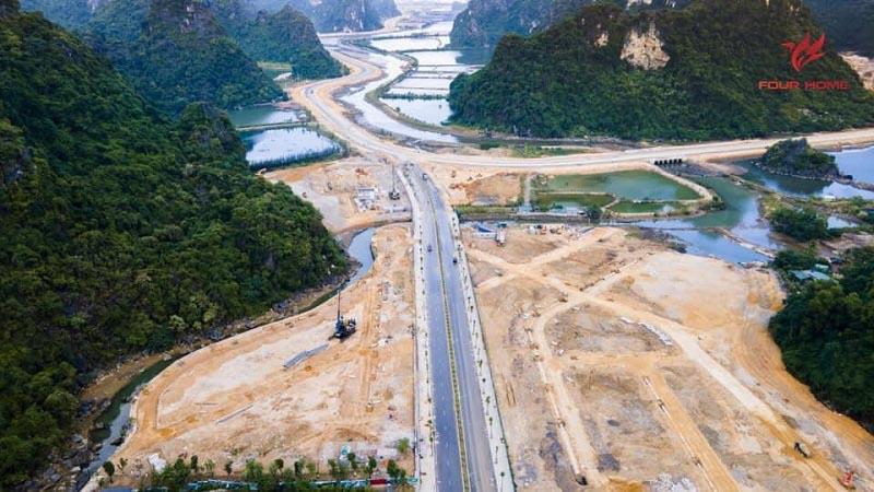 tien do thi cong sun onsen village