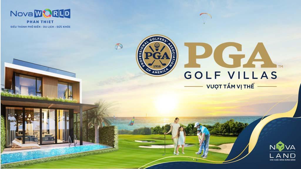 biet thu pga golf villas novaworld phan thiet