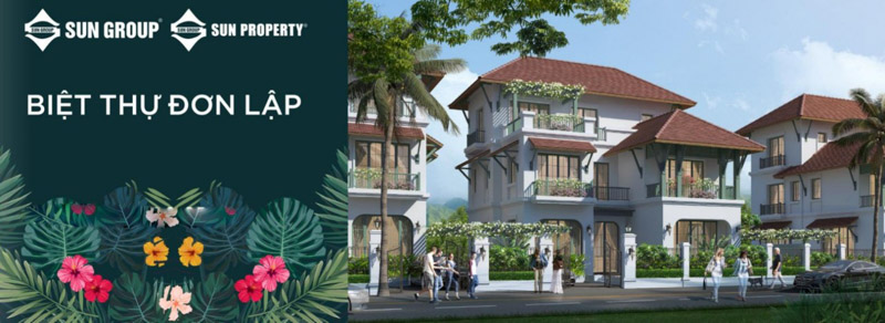 phoi canh biet thu don lap tai sun tropical village phu quoc