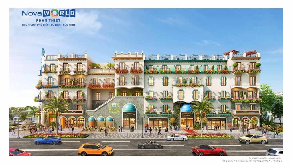 phoi canh khu boutique hotel novaworld phan thiet