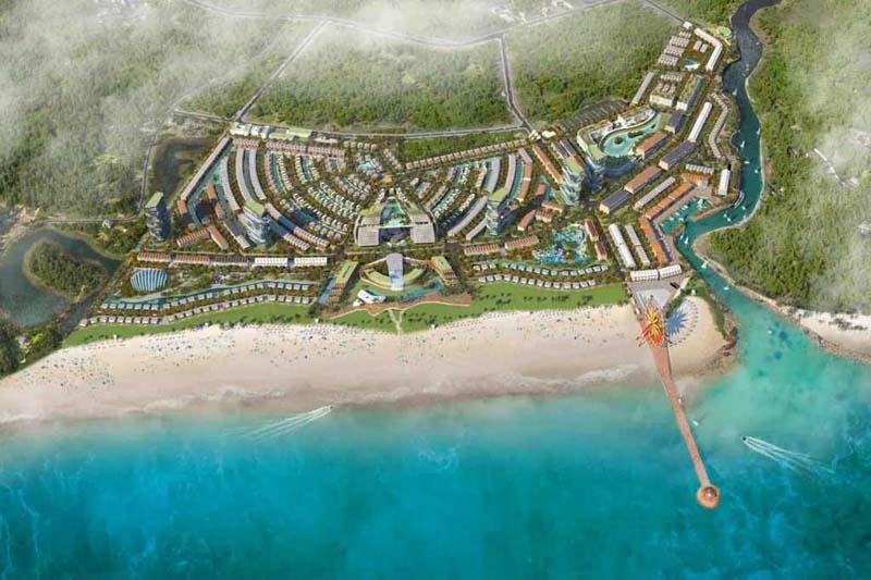 phoi canh du an venezia beach