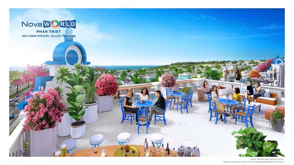 view boutique hotel novaworld phan thiet tren ban cong