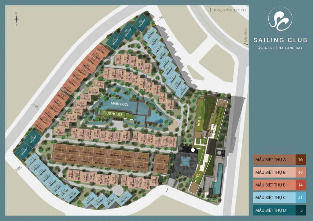 mat bang sailing club residences