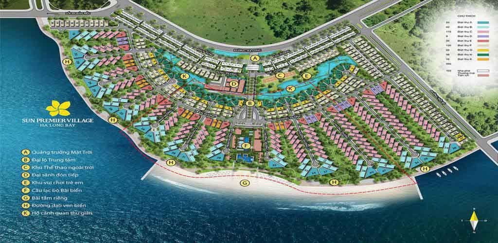 mat bang sun premier village ha long