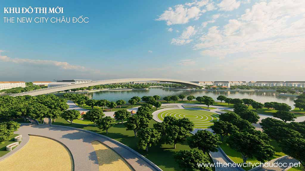 cong vien the new city chau doc