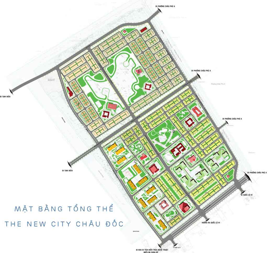 mat bang the new city chau doc