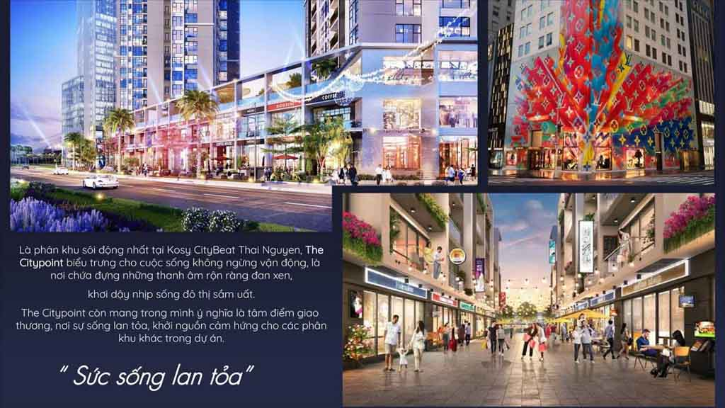 the city point kosy thai nguyen