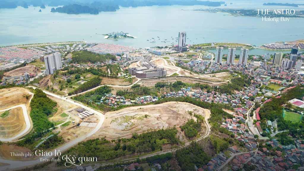 Tiến độ The Astro Halong Bay đã đến đâu?