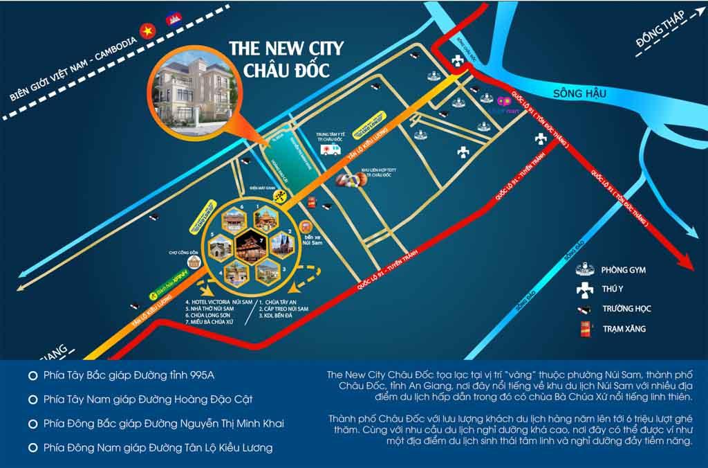 vi tri the new city chau doc