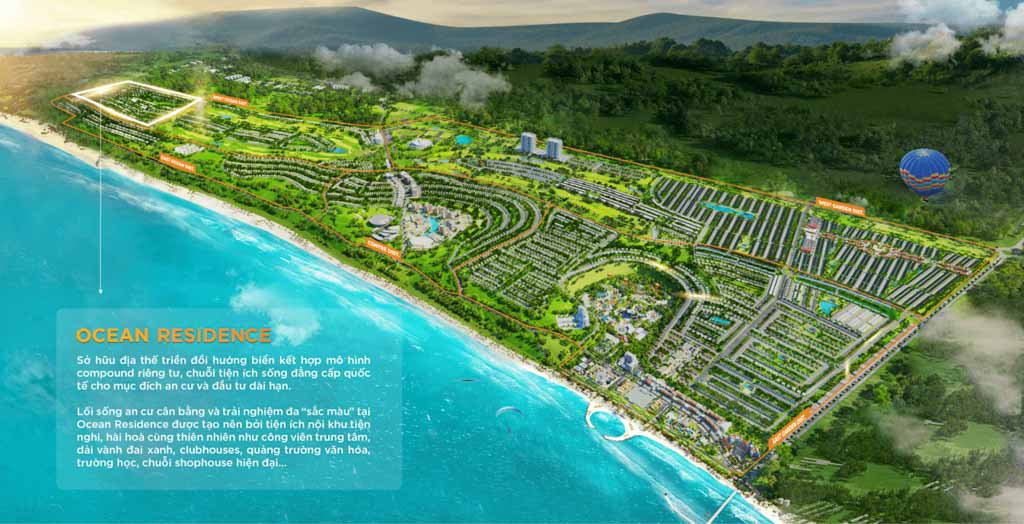 vi tri ocean residence novaworld phan thiet